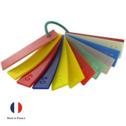 Echantillons echantillon dureté duretes shore a polyurethane polymere caoutchouc polyurethanes pu solutions elastomeres France