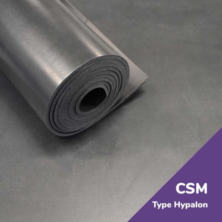 Rouleaux Caoutchouc CSM (Type Hypalon) Haute Qualite Rubber Solutions Elastomeres